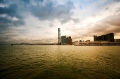Hong Kong skyline. Scene stock image