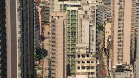 Hong Kong Skyline scenico stock footage