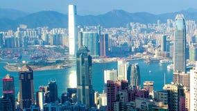 Hong Kong Skyline stock video