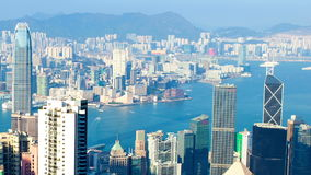 Hong Kong Skyline stock video footage