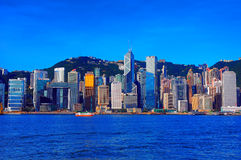 Hong kong skylines Stock Photos