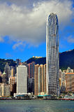 Hong Kong skylines Royalty Free Stock Image