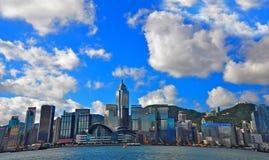 Hong kong skylines royalty free stock image