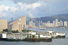 Hong Kong skylines Stock Image