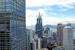 Hong Kong skylines Stock Images