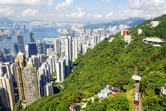 Hong Kong skylines daytime Stock Photos