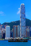 Hong kong skylines Royalty Free Stock Photos