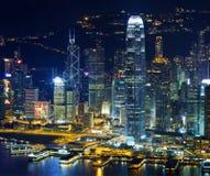 Hong Kong skylines Royalty Free Stock Photo