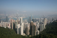 Hong Kong skylines. Stock Photography