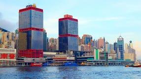 Hong kong skylines Stock Photos
