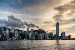 Hong Kong Skylne Fotografia Stock