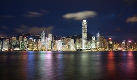Hong Kong skyscrapers Royalty Free Stock Image