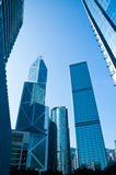 Hong Kong Skyscrapers Stock Image