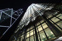 Hong Kong skyscrapers Stock Images