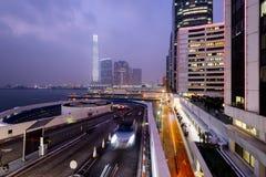 Hong Kong Skyscrapers. Royalty Free Stock Photography