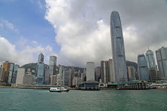 Hong Kong Skyscrapers Stock Photography