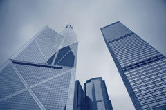 Hong Kong Skyscrapers. Stock Photos