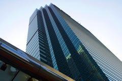 Hong Kong skyskrapa arkivfoto