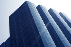 Hong Kong skyskrapa arkivbild