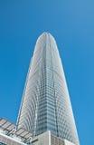 Hong Kong skyskrapa Arkivbilder