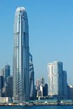 Hong Kong skyskrapa Royaltyfri Bild