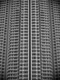 Hong Kong skyskrapa Arkivfoton