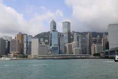 Hong Kong skyskrapor Royaltyfria Bilder
