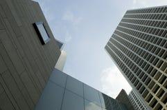 Hong Kong skyskrapor royaltyfria foton