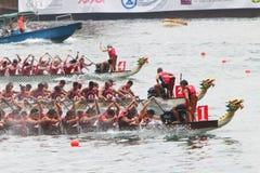 Hong Kong smoka Międzynarodowe Łódkowate rasy 2016 zdjęcia stock
