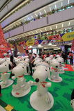 Hong Kong Snoopy christmas decoration in APM Stock Image