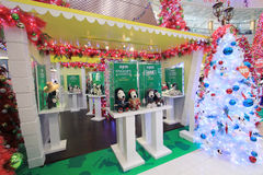 Hong Kong Snoopy christmas decoration in APM Royalty Free Stock Images