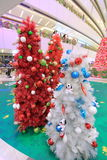 Hong Kong Snoopy christmas decoration in APM Royalty Free Stock Photography
