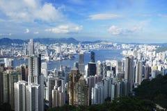 Hong Kong stad Arkivbilder