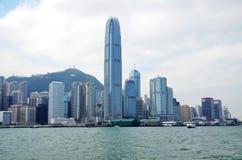 Hong Kong stad Royaltyfria Foton