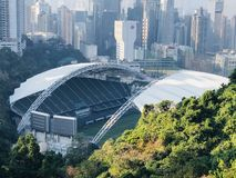 Hong Kong stadion Royaltyfri Fotografi