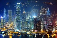 Hong Kong-Stadtbild Lizenzfreie Stockfotografie