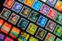 Hong Kong Stamps Royalty Free Stock Photo