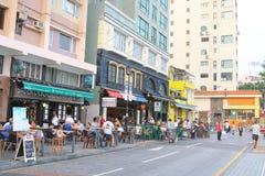 Hong Kong : Stanley Main Street Stock Image