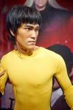 Hong Kong Star Bruce-Lee-Wachsstatue lizenzfreie stockbilder