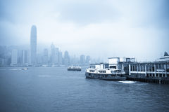 Hong kong star ferry Royalty Free Stock Photography