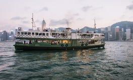 Hong Kong Star Ferry Stock Photo