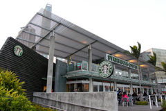 Hong Kong : Starbucks Royalty Free Stock Images