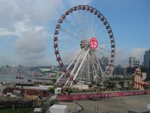 Hong Kong state observation wheel, central Hong Kong royalty free stock photos