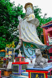 HONG KONG: Statues of Kwun Yam in Kwun Yam Shrine temple, a Taoist shrine at the southeastern end of Repulse Bay, Hong Stock Images