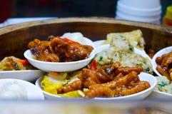 Hong Kong Steamed Chicken Feet stockbild