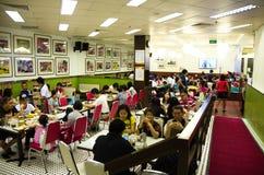 Hong Kong stilrestaurang Arkivfoton