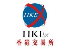 Hong Kong Stock Exchange Logo Vector. HKE, business money stock illustration