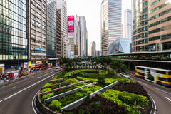 Hong Kong-Straße. Lizenzfreie Stockfotos