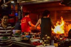 Hong Kong-Straßenküche lizenzfreies stockfoto