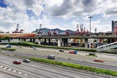 Hong Kong stree view Stock Photography